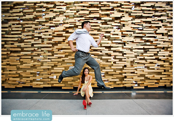 Downtown Los Angeles Engagement Photographer - 01