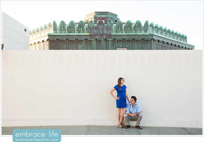 Griffith Observatory Engagement Photographer