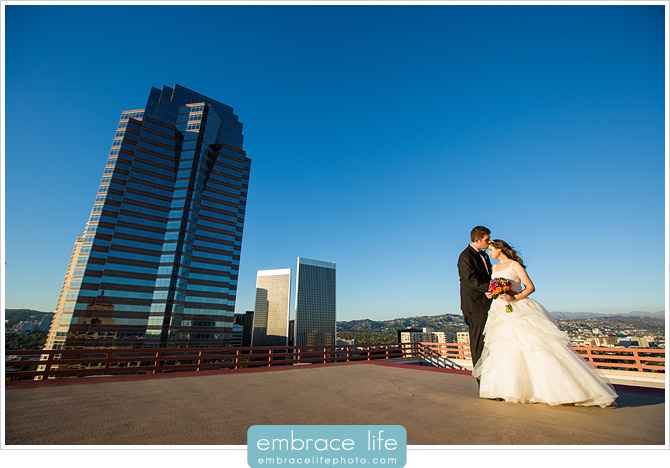 Los Angeles Intercontinental Wedding Photographer