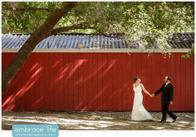 Wedding photography at Calamigos Ranch