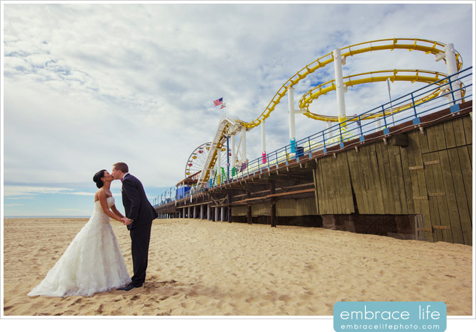 Wedding photographer, Santa Monica, CA