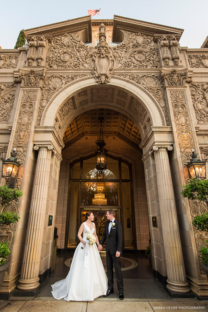 Beverly Wilshire Wedding Photographer