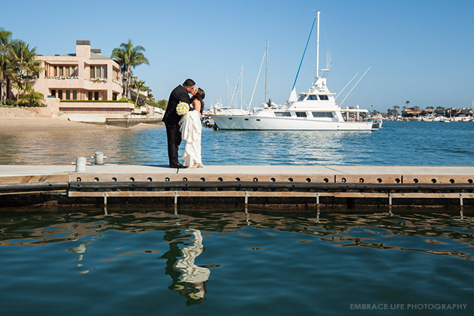 Balboa Bay Club Wedding Photographer Newport Beach