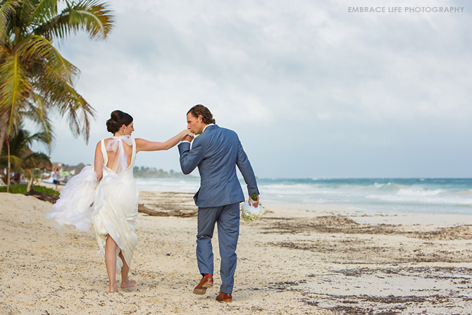 Tulum Destination Wedding Photographer Mexico
