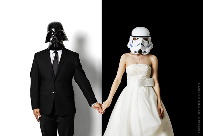 Star Wars Wedding Photography Los Angeles