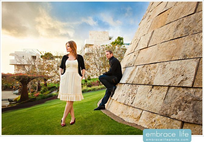 Getty Museum Engagement Portraits - 01