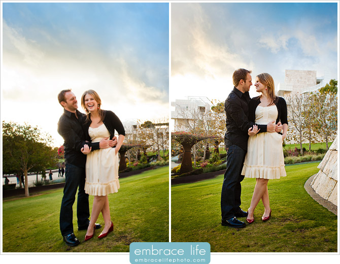 Getty Museum Engagement Photos - 02
