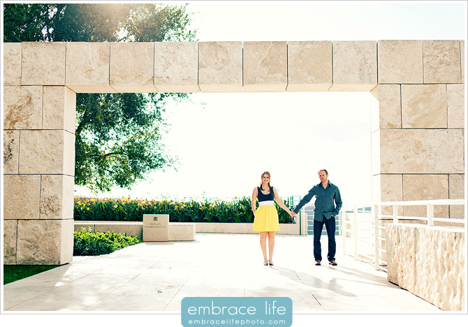 Getty Museum Engagement Pictures - 03