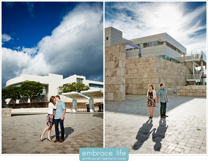 Getty Center Engagement Photos - 05