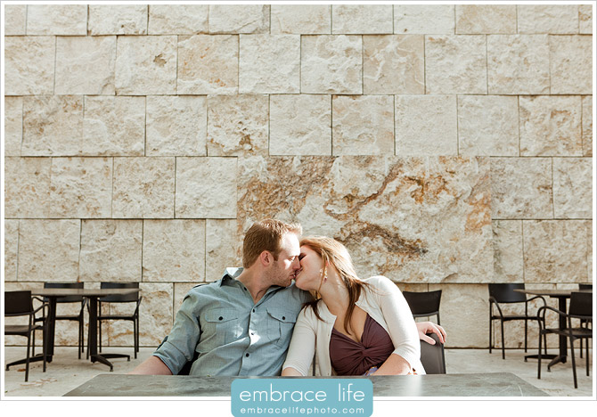 Getty Center Engagement Pictures - 06