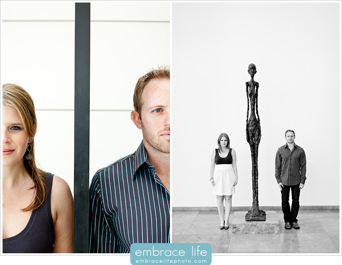 Engagement Pictures at the Getty Center - 09