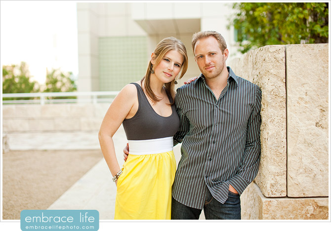 Engagement Photos at the Getty Museum - 11