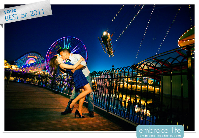 Disneyland Engagement Photographer - 01