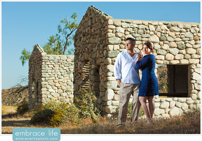 California Desert Engagement Photography - 06