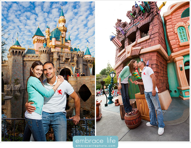 Disneyland Engagement Photography - 05
