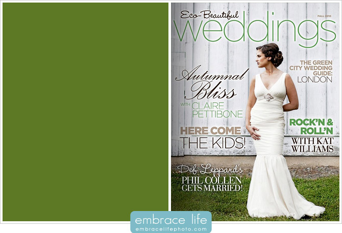 Green Wedding photographer