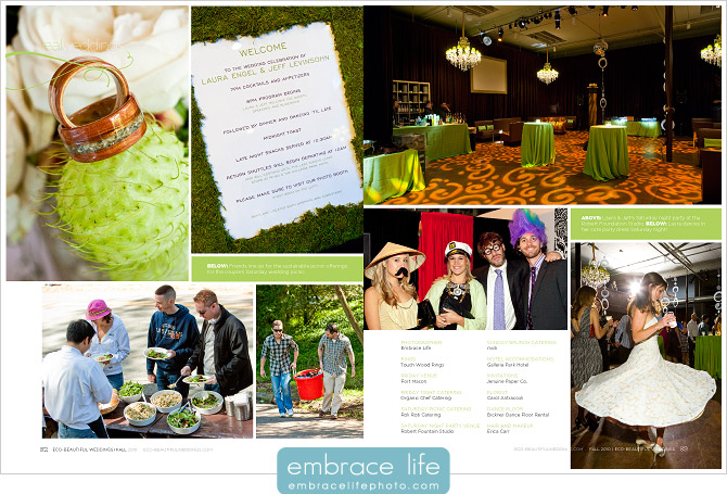 Green Wedding photos
