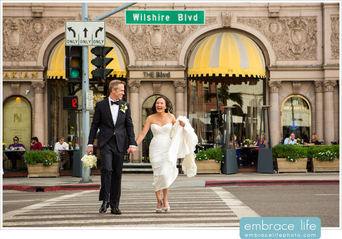 Beverly Wilshire Wedding Photographer - 01