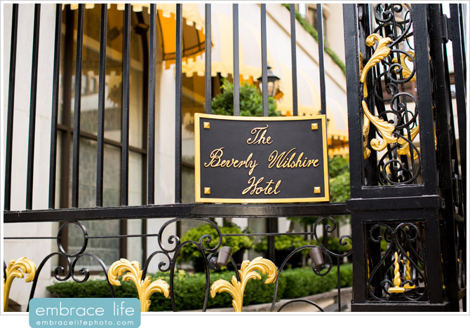 Beverly Wilshire Wedding Photographer - 02