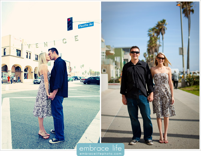Venice Beach Engagement Photos - 02