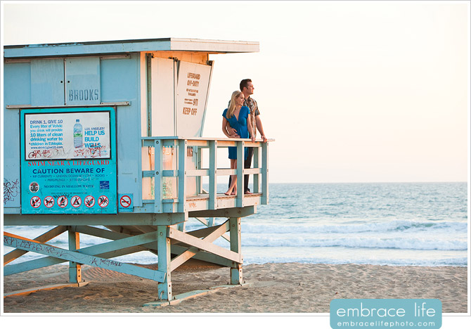 Venice Beach Engagement Session - 18