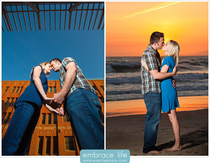 Venice Beach Engagement Portraits - 21