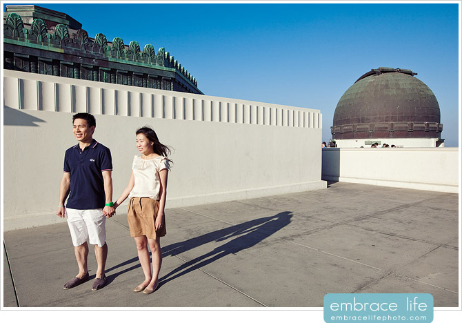 Griffith Observatory Engagement Photographer - 06