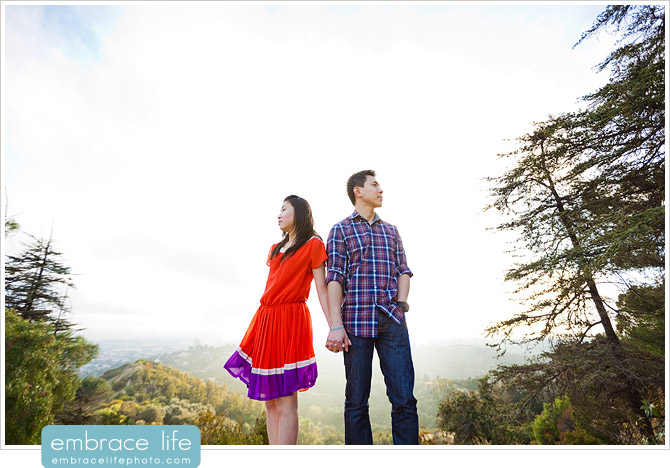 Griffith Park Engagement Photographer - 11