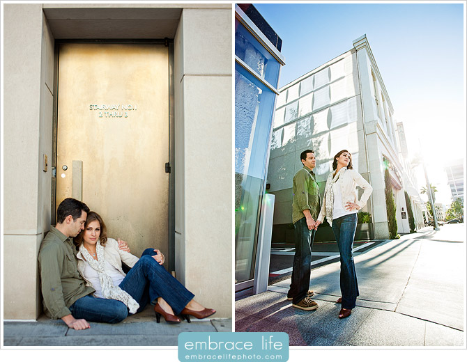Rodeo Drive Engagement Portraits - 04