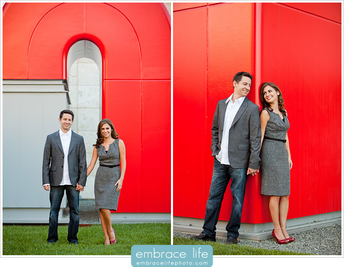 Engagement Portraits at LACMA  - 10