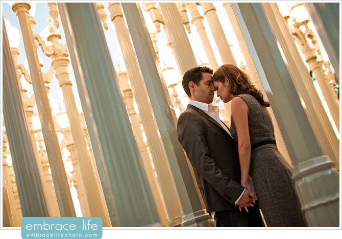 LACMA Engagement Portraits - 15