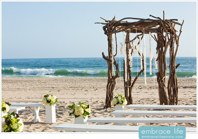 Malibu Beach Wedding Pictures - 17