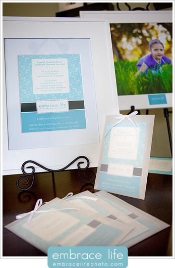 Embrace Life charity auction donations