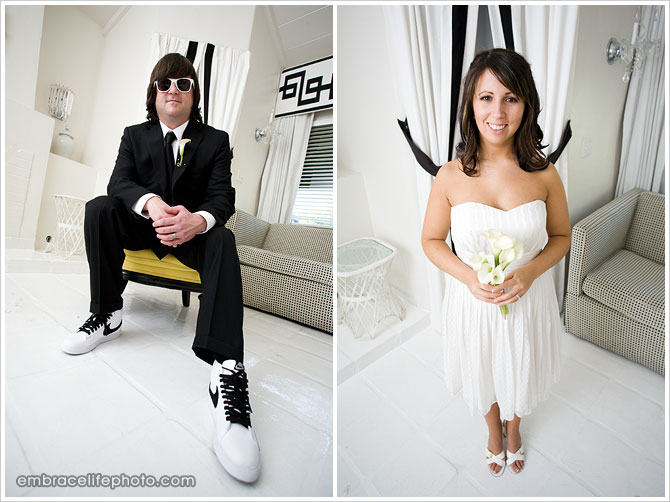 Modern wedding photographer