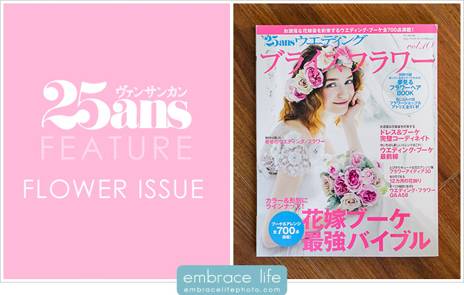 25ans Magazine Flower Issue Feature