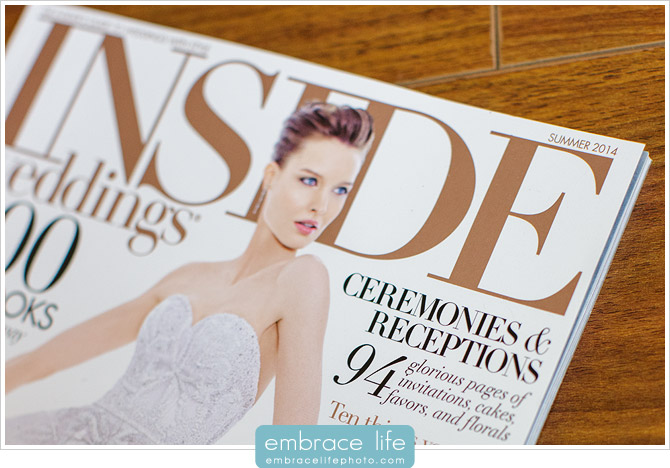 Inside Weddings magazine Viceroy Santa Monica wedding photography feature