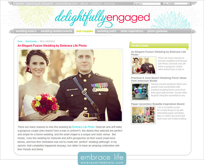 Military Wedding Photography at Cample Pendleton, Oceanside, California