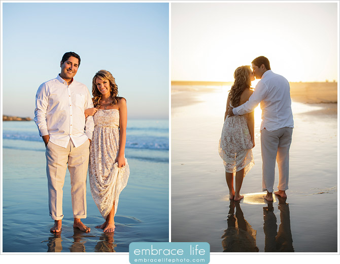 Corona Del Mar Engagement Portraits - 11