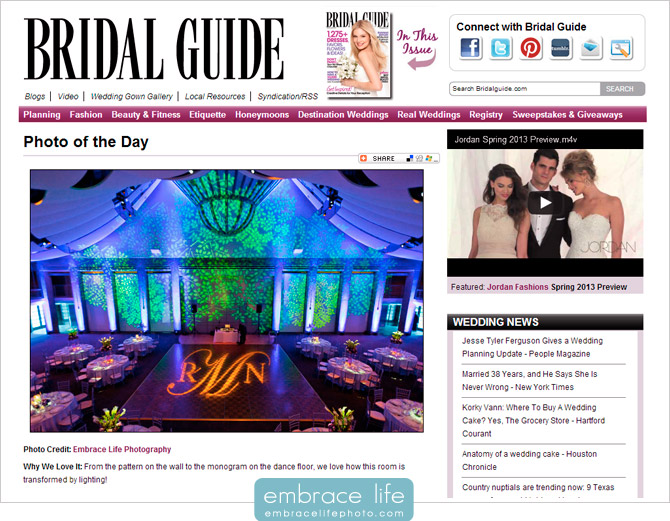 Skirball Cultural Center wedding photography featured by Bridal Guide