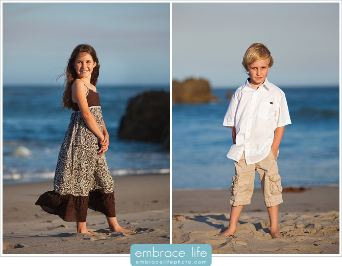 Malibu, California Beach Portrait Photography 3
