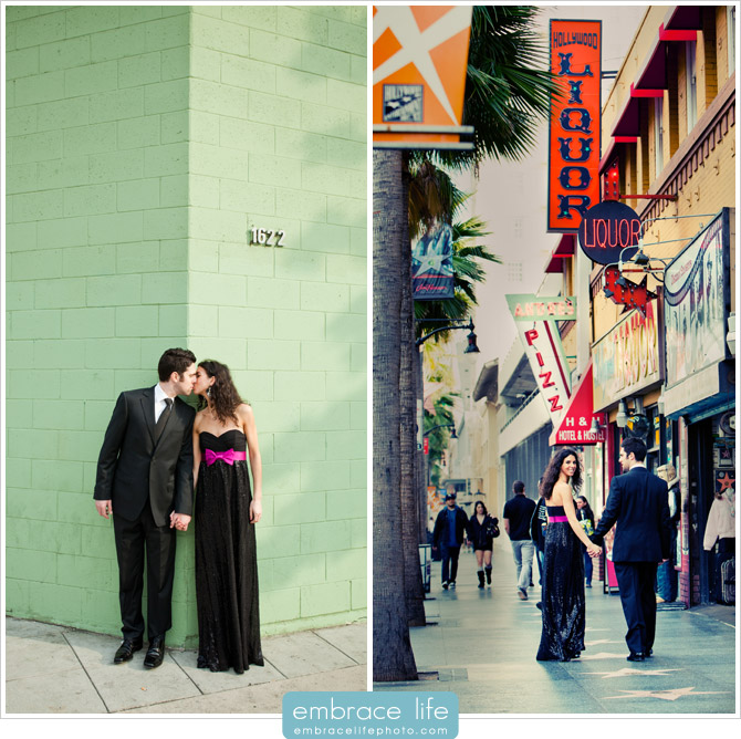 Hollywood Engagement Photography - 01
