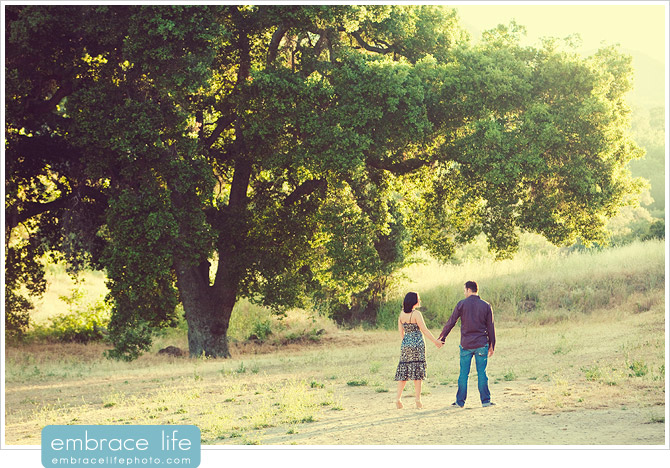 Engagement photos at Paramount Ranch - 12