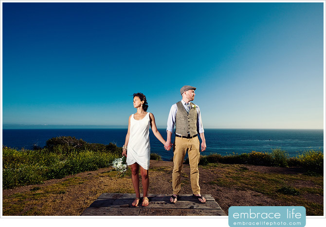 Malibu Beach Wedding Photo - 09