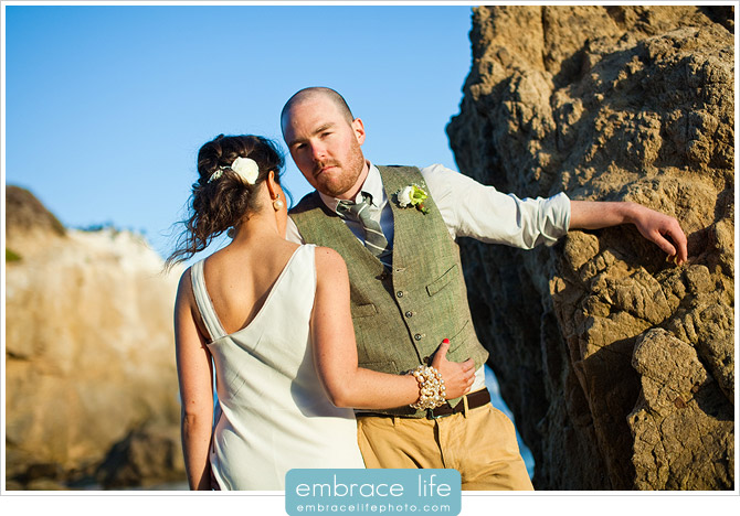 El Matador State Beach Malibu Wedding Photography - 10