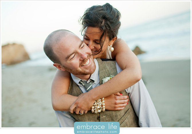 Malibu Wedding Photographer, El Matador State Beach - 16