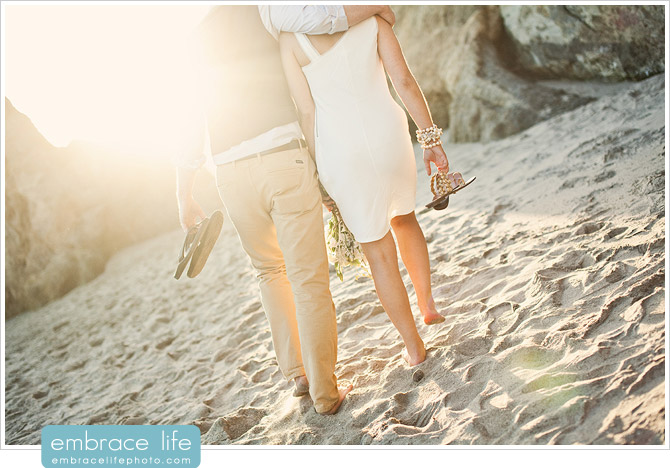 Malibu Wedding Photo, El Matador Beach - 17