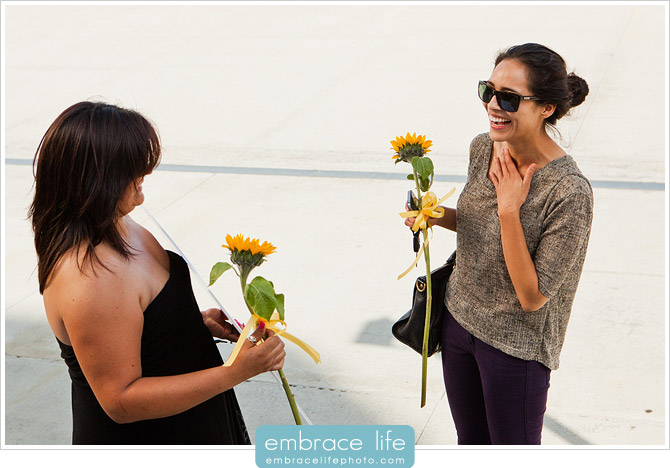 Disney Concert Hall Proposal Photographer - 13