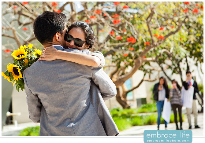 Disney Concert Hall Proposal Photography - 18