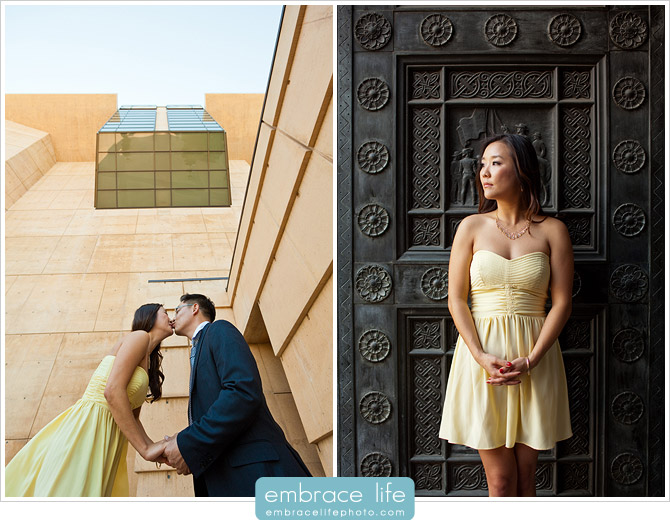 Downtown Los Angeles Engagement Photographer - 12