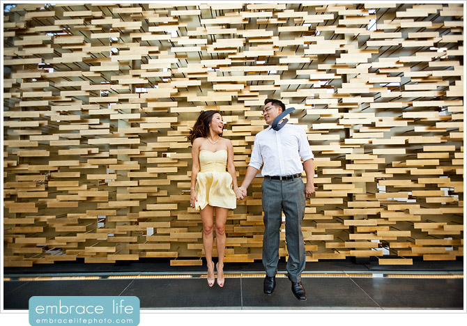 Downtown Los Angeles Engagement Photography - 11